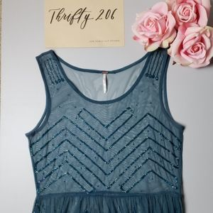 [Urban Outfitters] Free People NWT Sequined Dress